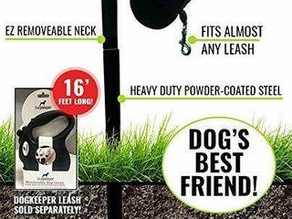 Dog Keeper Outdoor Dog leash Holder