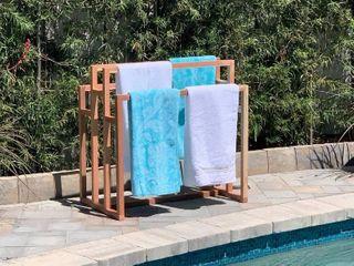 Outdoor Habitation Outdoor Towel Rack   Pool