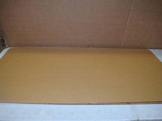 5 Plexi Glass Counter or Desk Guards COVID   24  x 48  x 3 16