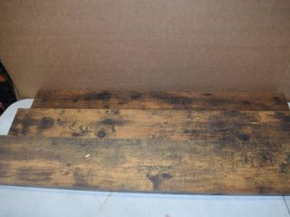 Set of 3 Rustic Floating Shelves   36  long   3 75  wide  4 75  wide and 5 5  wide
