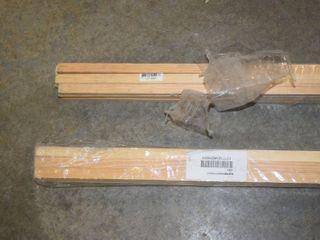 24 Sticks of Wood   1 2  x 3 4  x 8 foot