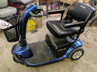 Mobility Scooters / Chairs w/ NEW Batteries + 2 Folding Aluminum Wheelchair Ramps