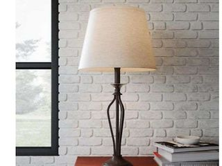 floor lamp, path lights, backpack beach chair, wired doorbell, stake timer, table lamp, silverware