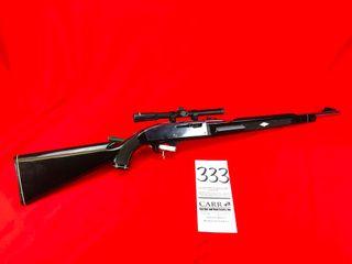 Remington Nylon M 66 Apache  Semi Auto  22 w Scope  Black Stock  Chrome Bbl