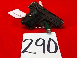 Colt Vest Pistol  25ACP Cal  Semi Auto  HANDGUN  SN  321997NEEDS REPAIR