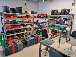Electrical Contractor Tools, Equipment & Inventory