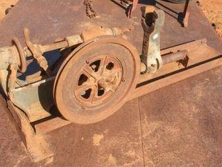 Vintage Antique Belt Driven Drill Press
