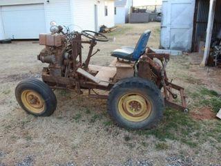 HomeMade Tractor w 3Pt  16 HP Briggs   Stratton