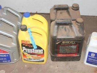 3   15W 40 Diesel Engine Oil  2   Mystic Gear lube