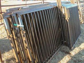 7 Preifert Panels 10 x 4  3 small panels  2 gates