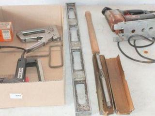 Electric Staple Gun  staple gun  level  Misc