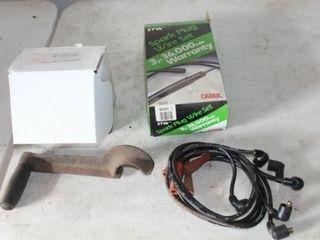 Spark Plug Wire Set  Electric Fuel Pump  Crank