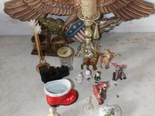 Decorative Collectibles   Reindeer  Bells  Candles