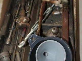 Funnels  Battery post brush  sockets  misc