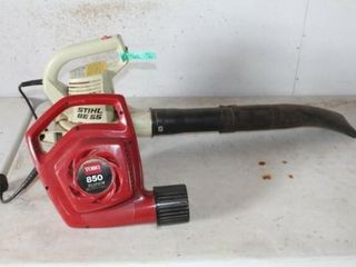 Stihl BE 55 Electric Blower  Toro 850 Super Blower