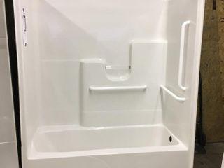 Oasis 1 pc Fiberglass Shower Enclosure