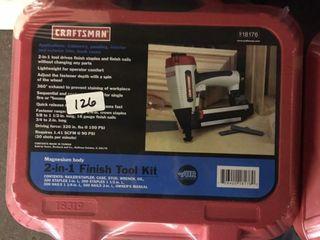 Craftsman 2 in 1 Finish Tool Kit