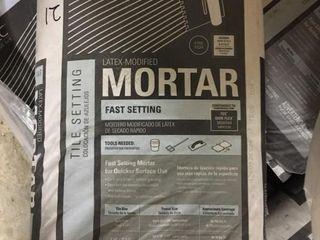 21 50 lb Bags Fast Set Mortar