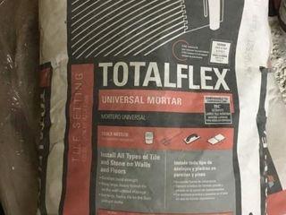 24 40 lb Bags Totalflex Mortar