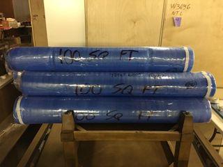 6  100 sq ft Rolls of Foam laminate Underlayment