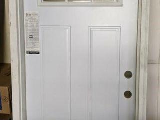 32  lH Masonite Prehung Steel Entry Door