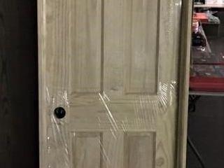 6 Panel Pine 24  RH Prehung Door