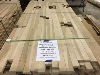 Mullican 3 4 x 2 1 4 Unfinished Maple Flooring