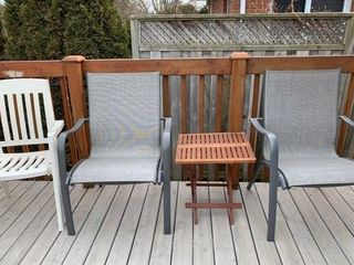 Grouping of Outdoor Furniture