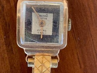 ladies Vintage ladies 10K Gold Wristwatch
