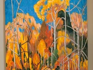 Oil On Canvas After Franklin Carmichael