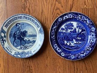 Pair of Dutch Wall Plates