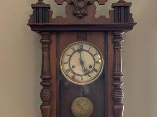 Circa 1880 90 Vienna Regulator Wall Clock