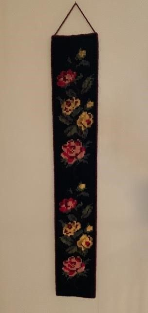 large Needlepoint Wall Hanging