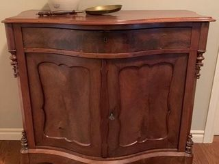 Antique Cherry Two Door Sideboard