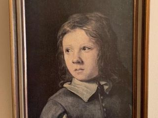 Framed Reprint of little Girl