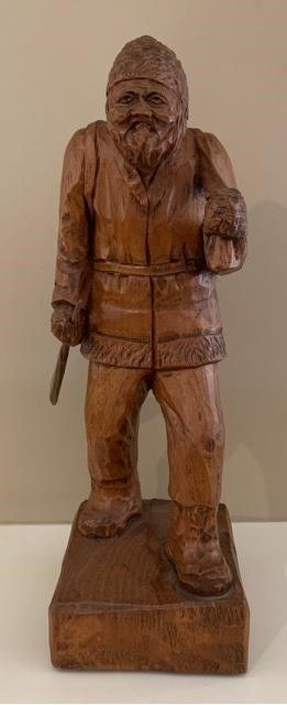 Quebec French Hand Carved Mountaineer