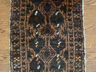 Afghan Wood Hand Made Rug