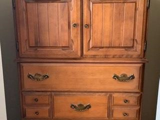 Maple Gents Dressing Cabinet