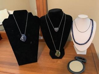 Grouping of Pendant and Necklace Jewelry