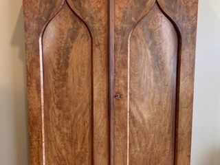 Ancient Two Door Gothic Arch Wardrobe