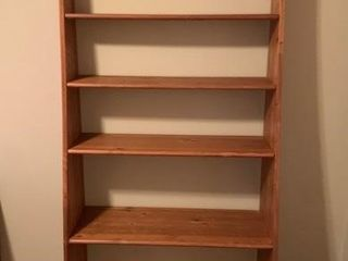 large Pine Bookcase Shelf