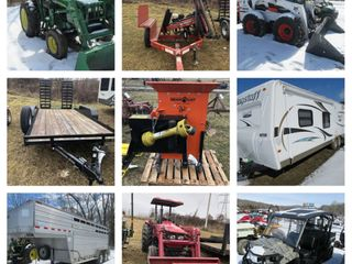 Spring Farm Machinery & Equipment Online Consignment Auction