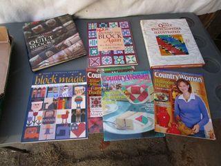 QUIlT BOOKS  MAGAZINES