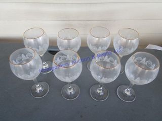 WINTER WATER GOBlETS