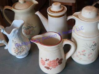 Serving pitchers