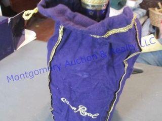 crown Royal with bag