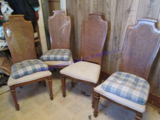 caneback chairs