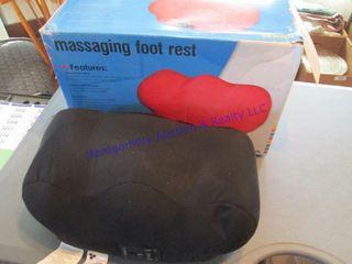 massaging foot rest