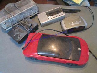 Radios and VCR rewinder
