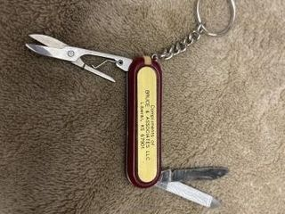 3 Function keychain knife